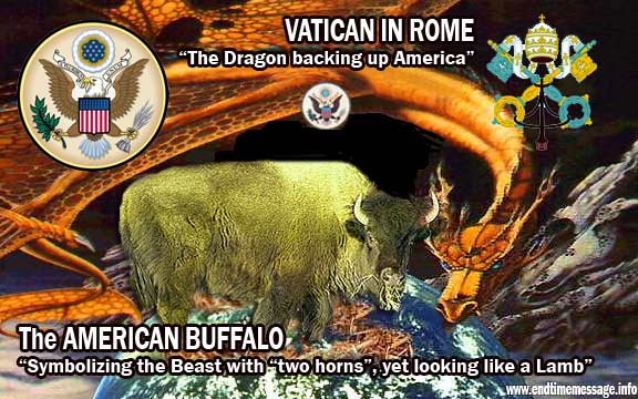 lamb dragon  Bible Prophecy America: The Lamb with Two Horns