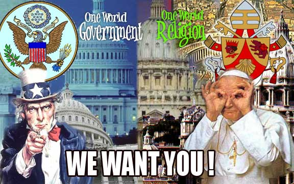 usa rome  Bible Prophecy America: The Lamb with Two Horns
